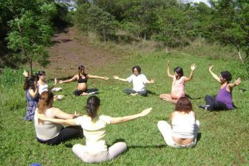 Yoga no parque