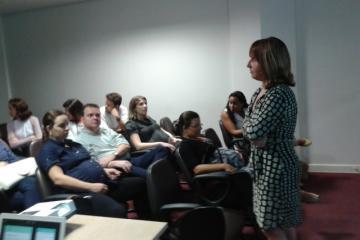 Renata Duailibi falou psicologia da gestação.
