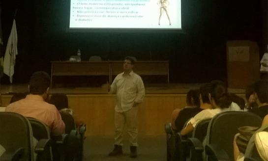 O Curso foi realizado pela primeira vez no auditório.